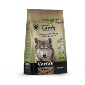 carnis lam, hondenbrok
